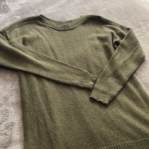 Old Navy Green Tunic Sweater